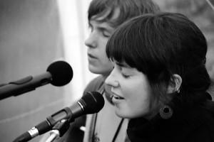 """2008 festivalyje """"Dpoezija susirenka"""" Giruliuose"""